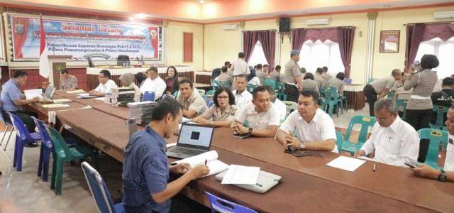 Kunjungan Badan Pemeriksa Keuangan Republik Indonesia (BPK RI) dalam rangka Pemeriksaan Atas Laporan Keuangan Polri Tahun 2019 Pada Polda Sumatera Utara, Pores Simalungun