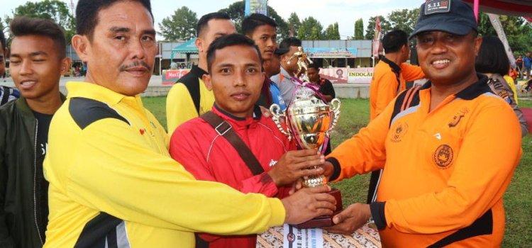 Penutupan Turnamen 4 Cabang Olah Raga Piala Kapolres Simalungun 2018