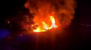 Kebakaran di Pasar Tempel Kampung Medasari
