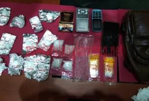 BB yang berhasil disita petugas dari Bandar Narkotika asal Kampung Bakung Ilir