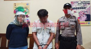 Bandar Narkotika berinisial SI yang berhasil ditangkap