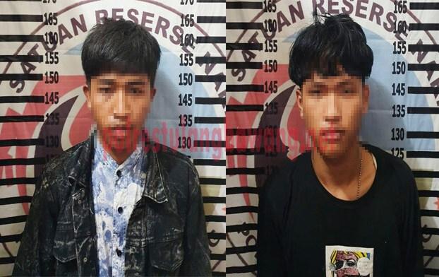 Dua pemuda asal Menggala berinisial AN (22) dan HS (18), yang kedapatan membawa narkoba jenis sabu dan pil ekstasi
