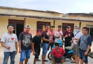 Pelaku pencurian HP berinisial FH (38), warga Kelurahan Menggala Tengah yang ditangkap Tekab 308 Polres Tulang Bawang