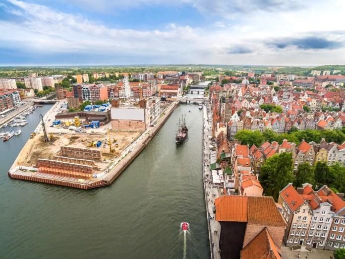 Gdańsk Główne Miasto statek