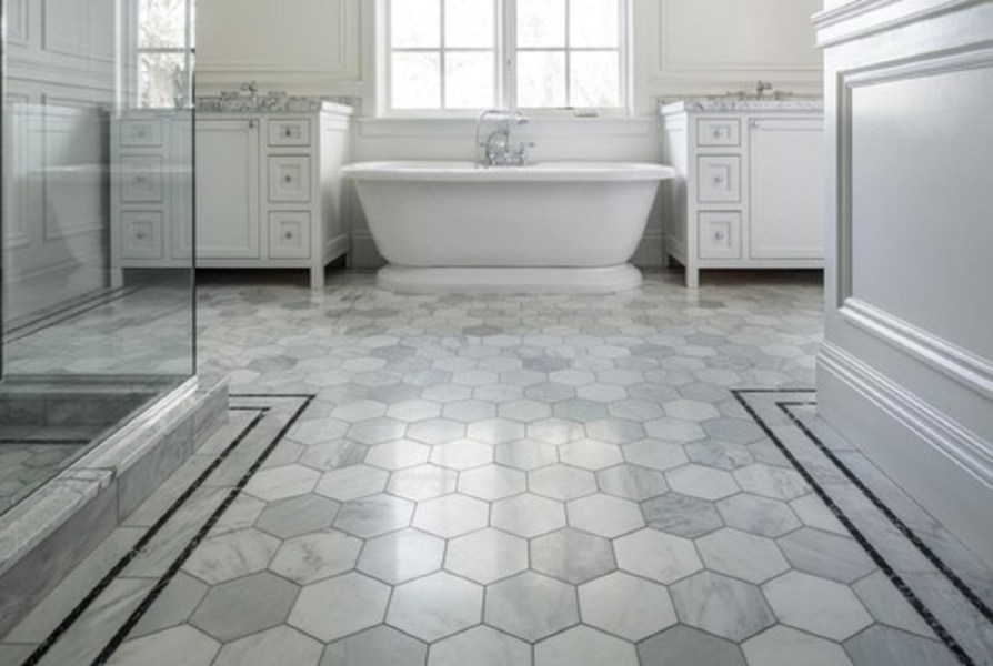 How To Tile A Bathroom Floor Like A Contractor     Polstein s Hardware