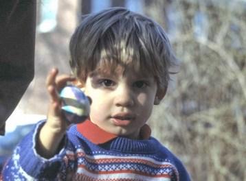 Brendan finds an Easter Egg