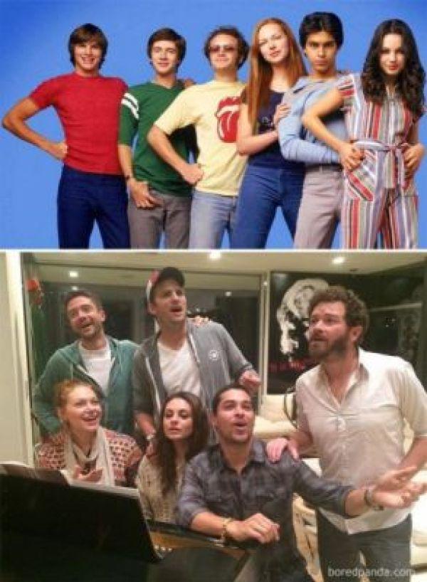 Antes e Depois That '70s Show