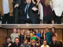 Antes e depois escola do rock