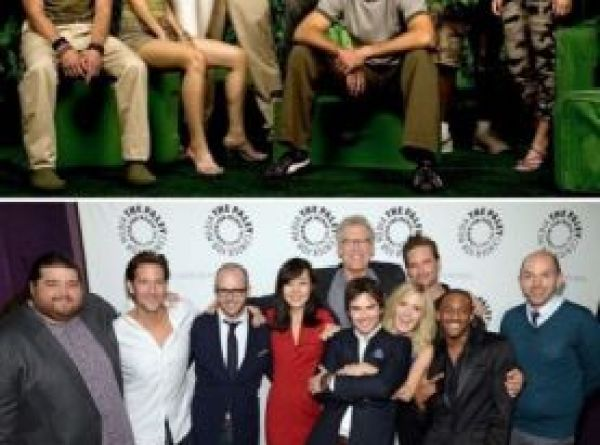 Antes e Depois Lost