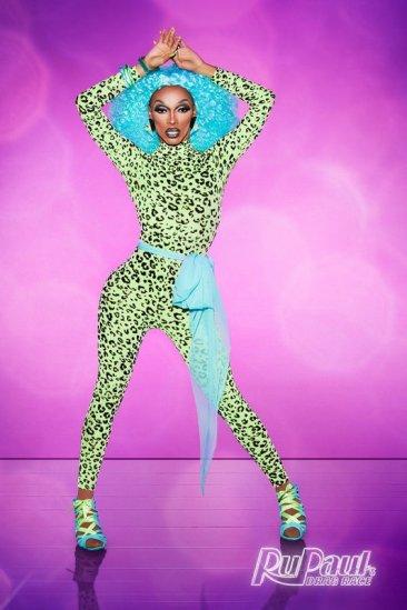 The Vixen, 26 anos | Chicago. Com estilo pin up. É queen heroína do seu mundo, ela é engraçada, super atrevida, grande dançarina e verdadeira. Promete ser a bitch queen da temporada.