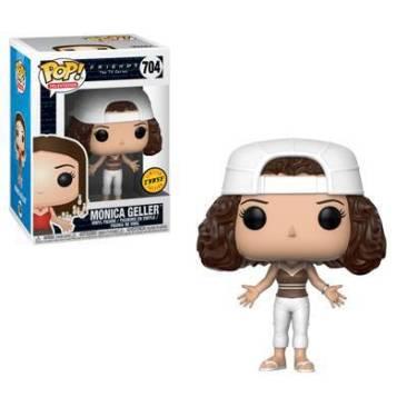 Monica Geller com o cabelo cheio