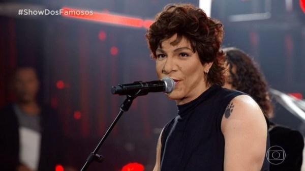 Di Ferrero interpreta Cássia Eller no Show dos Famosos DivulgaçãoGshow
