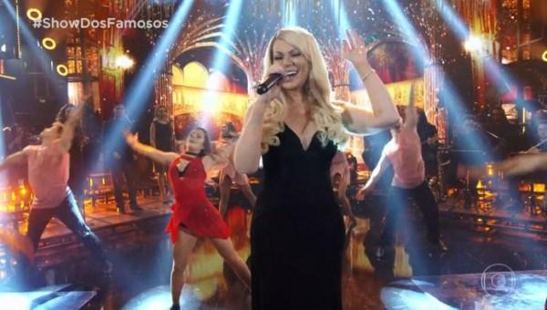 Solange Almeida interpreta Mariah Carey no Show dos Famosos DivulgaçãoGshow