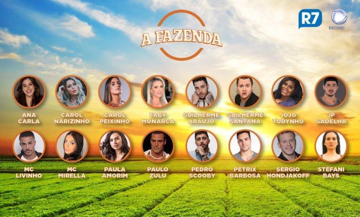 Supostos participantes da próxima edição de A Fazenda