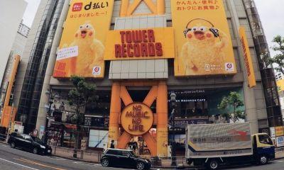 Tower Records Edições Especiais Japão