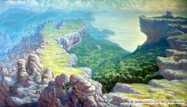 """""""Страна Дори"""", 2002 год. Автор работы — Глеч Николай Петрович"""