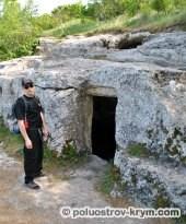 Главный пещерный храм Тепе-Кермена. Автор фото Алексей Коппа