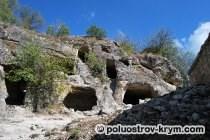 Древний пещерный комплекс Чуфут-Кале. Фото Ольги Иутиной