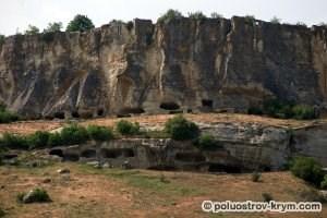 Пещеры Тепе-Кермена. Автор фото Ольга Иутина