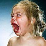 El llanto de los niños