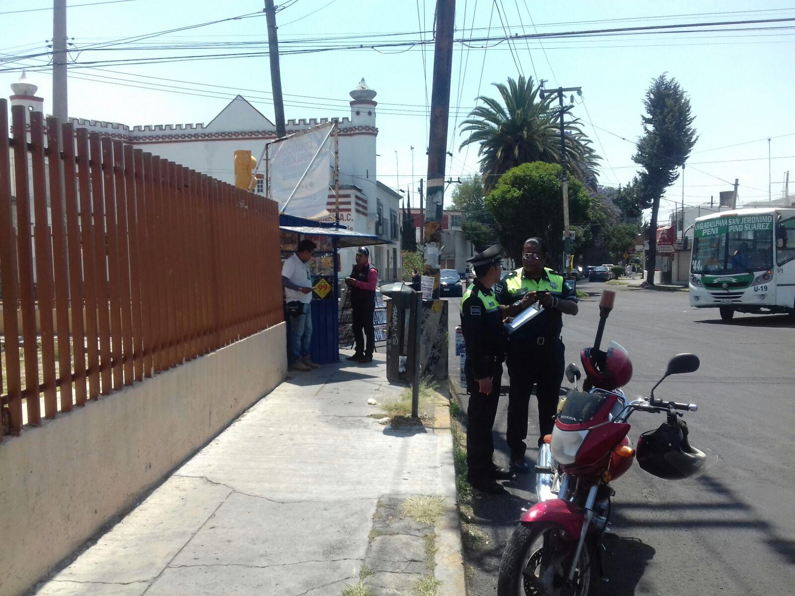 """del """"programa piloto"""" anti-perifoneo en Puebla."""