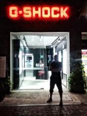 G-Shock store.