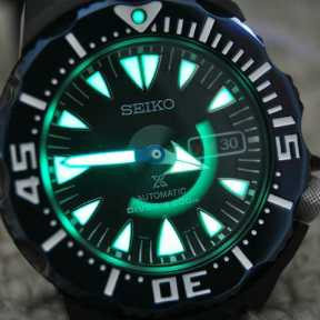 Lume is a Seiko thing. No other brand comes close.