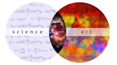 Science plus art equals wonder.