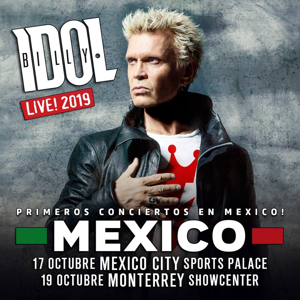 Billy Idol en México