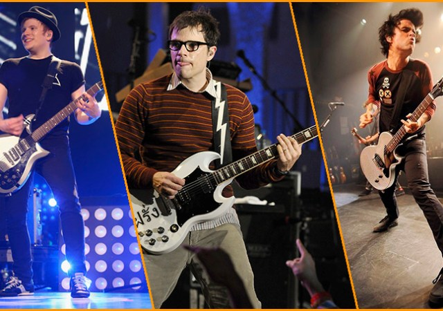 Green Day, Weezer y Fall Out Boy.