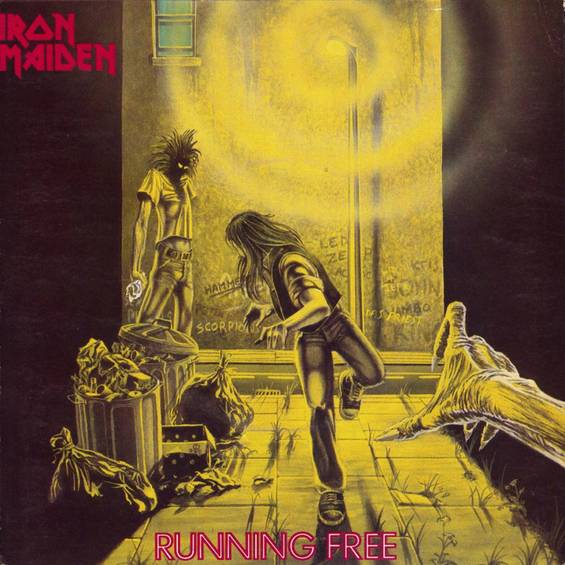 running-free-1980-iron maiden