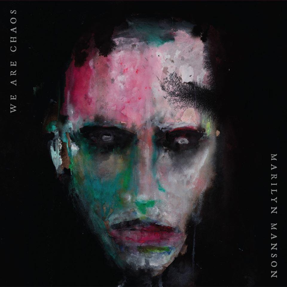 Marilyn Manson portada de We Are Chaos