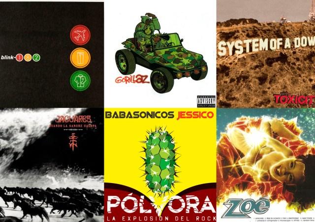 Pólvora - Veinte discos que cumplen 20 años en 2001