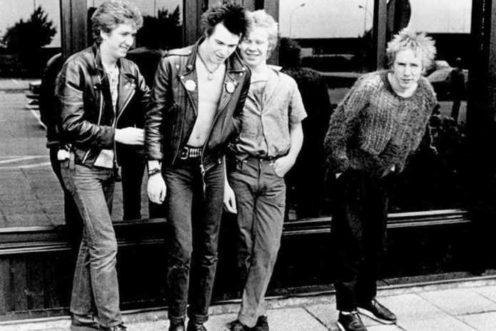 Sex Pistols con Sid Vicious