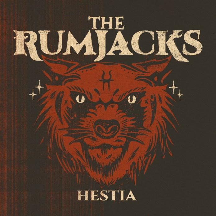 Portada del disco Hestia de The Rumjacks