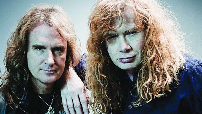 David Ellefson y DAve Mustaine de Megadeth