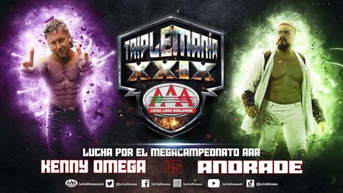 Kenny Omega Vs Andrade en Triplemanía XXIX