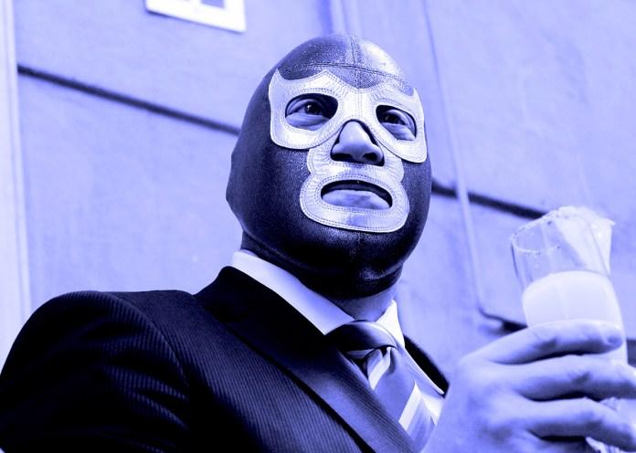Blue Demon Jr. / Foto: Andre Dulché