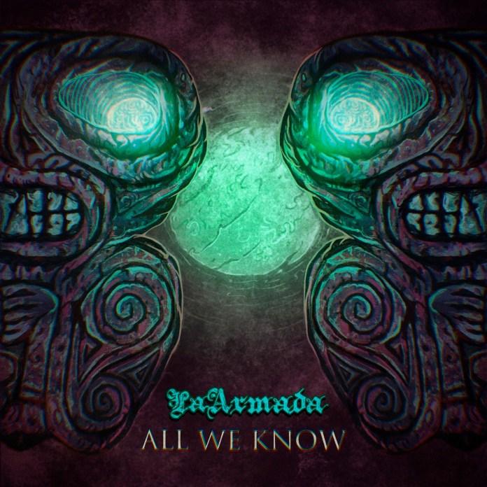 """Portada del single """"All We Know"""" de La Armada"""
