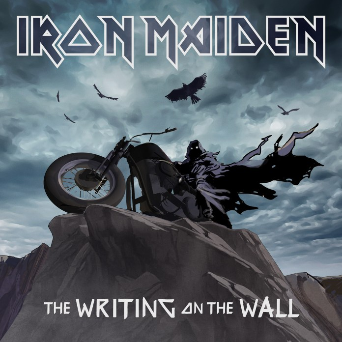 Iron Maiden - The Writing on the Wall portada