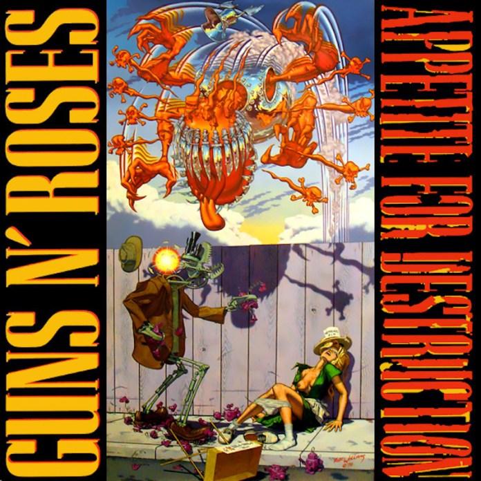 Appetite For Destruction, portada original