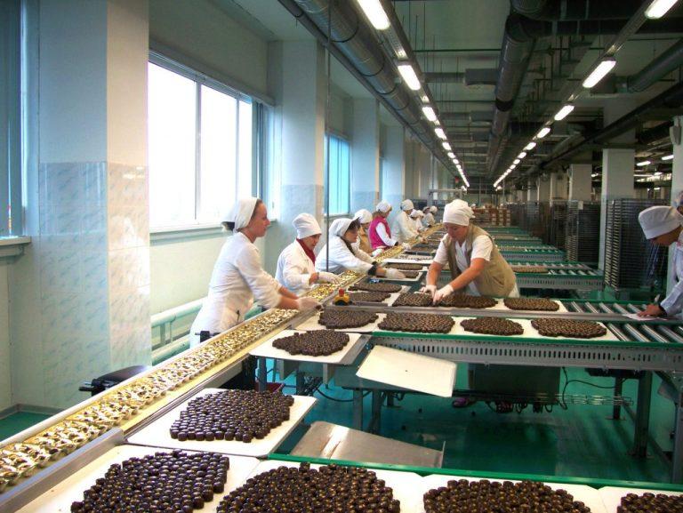 Шоколадная фабрика Lotte Wedel в г. Варшава