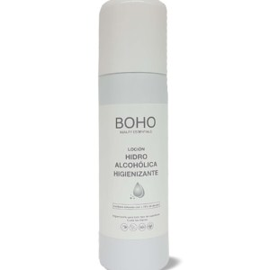 BOHO hydroalcoholic disinfectant lotion in SPRAY format – 200 mL