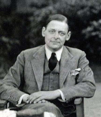 TS Eliot | see more at PolyArchive.com