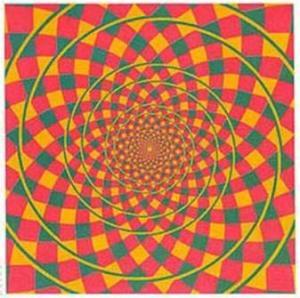 optical illusion circles spiral1