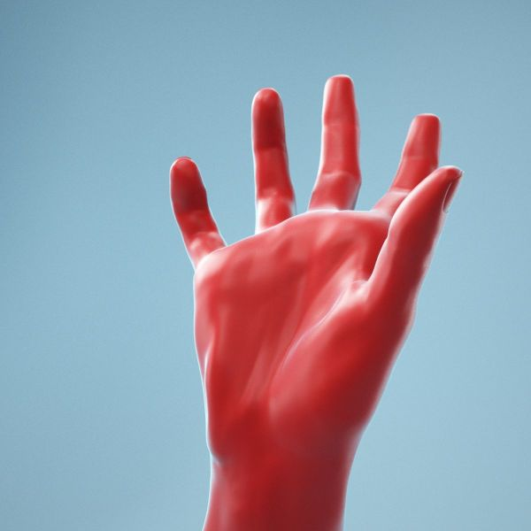 Clawing Horror Realistic Hand