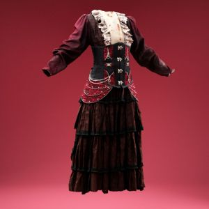 Bloody Corset Dress