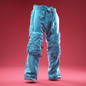 Creepy Army Pants