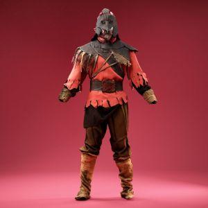 Masked Medieval Creep Costume