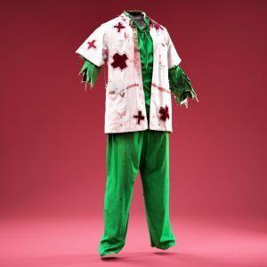 Psycho Horror Nurse Costume